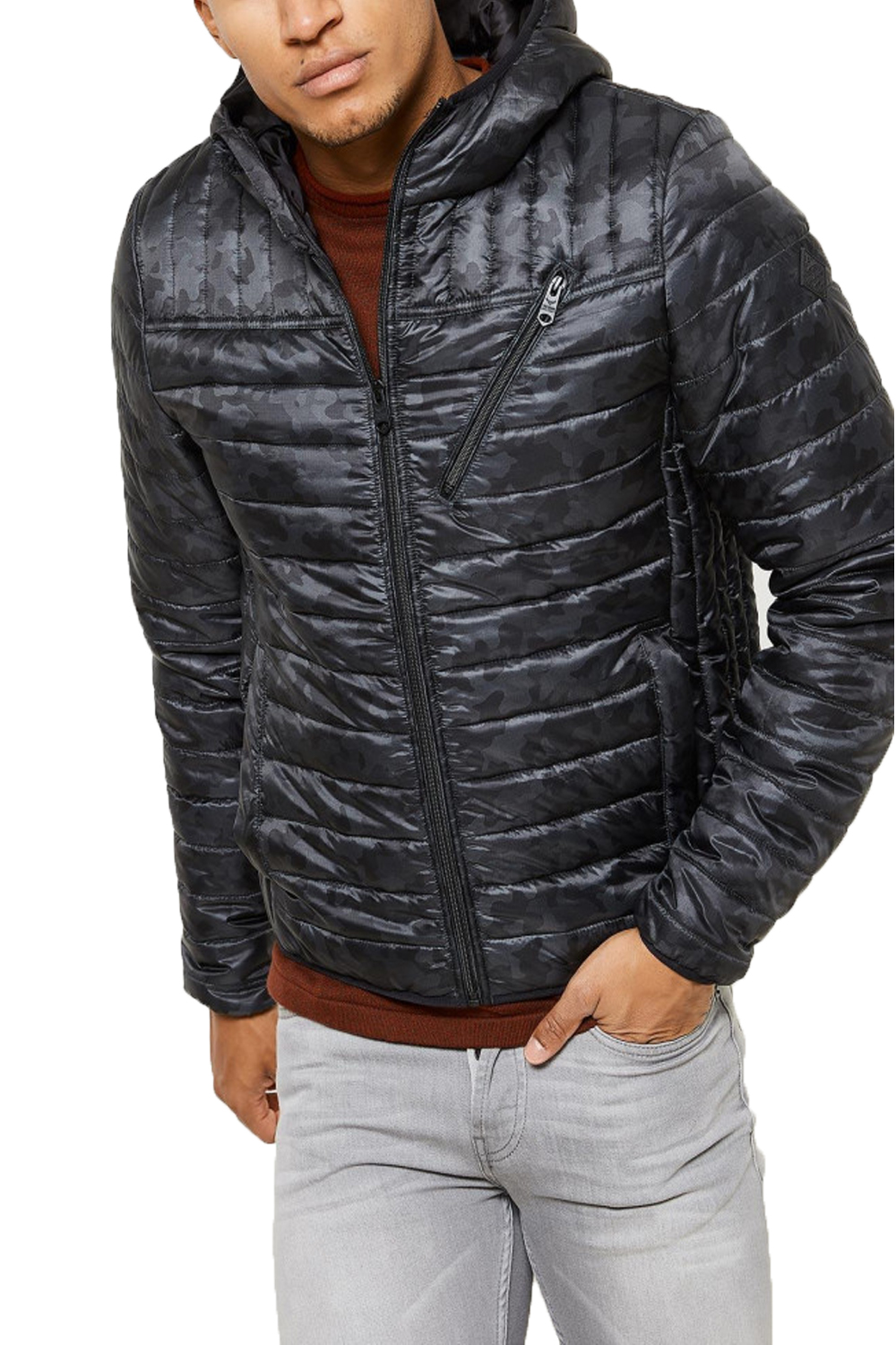 Men's Quilted Jackets Typically British, the quilted jacket is a utilitarian addition to the dapper chap's wardrobe. Warm and practical, they come in classic, biker and slim cuts.