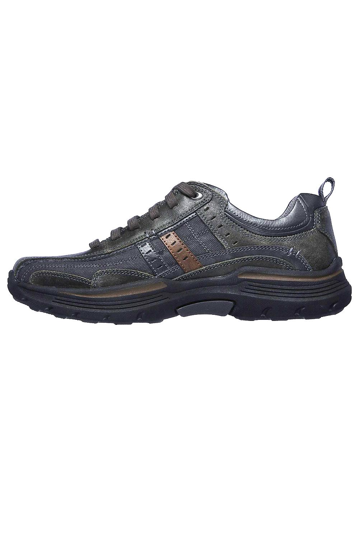 Skechers-Mens-realizado-manden-Caminar-Senderismo-Entrenadores-de-espuma-de-memoria-refrigerado-por miniatura 4
