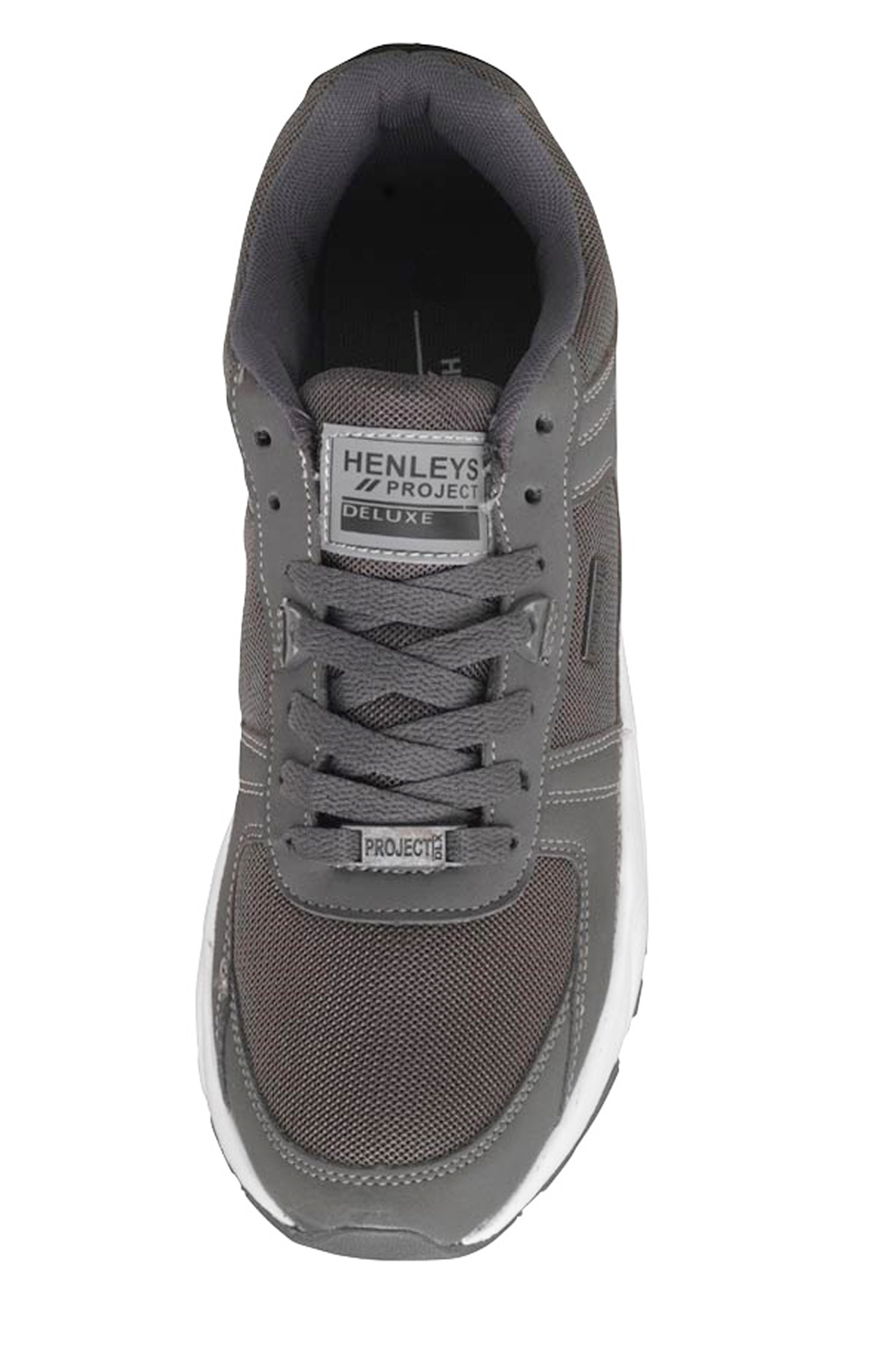 Henleys-Drexel-Markcus-Mens-Lace-Up-Low-Top-Trainers-Sport-Tennis-Casual-Shoes thumbnail 17