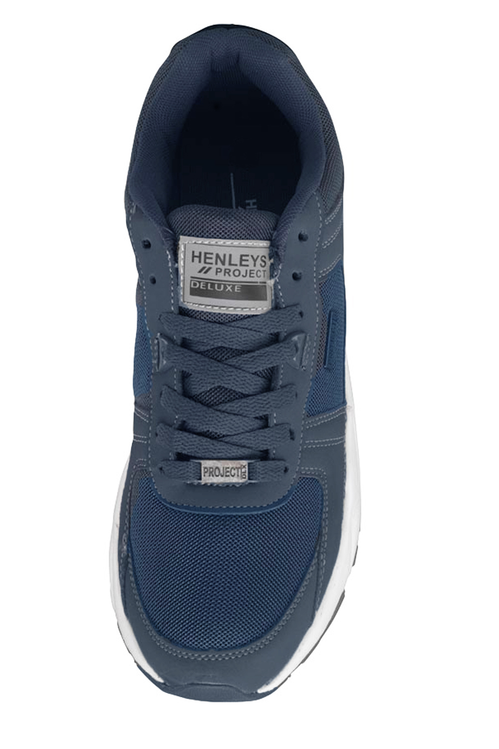 Henleys-Drexel-Markcus-Mens-Lace-Up-Low-Top-Trainers-Sport-Tennis-Casual-Shoes thumbnail 14