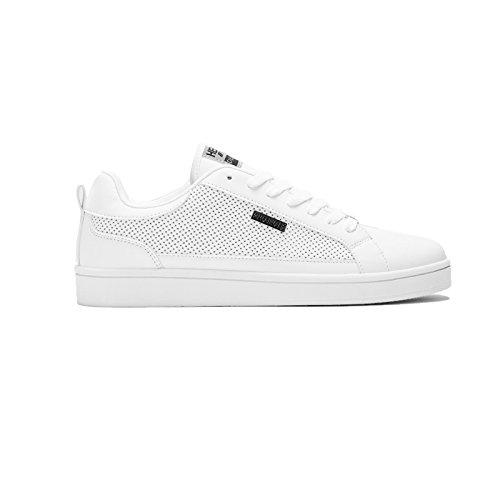 Henleys-Para-hombre-Drexel-Cupsole-Con-Cordones-Zapatillas-Bajo-Top-Zapatos-Zapatos-De-Salon-Casual miniatura 16
