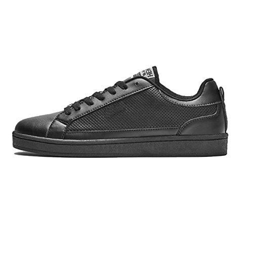 Henleys-Para-hombre-Drexel-Cupsole-Con-Cordones-Zapatillas-Bajo-Top-Zapatos-Zapatos-De-Salon-Casual miniatura 5