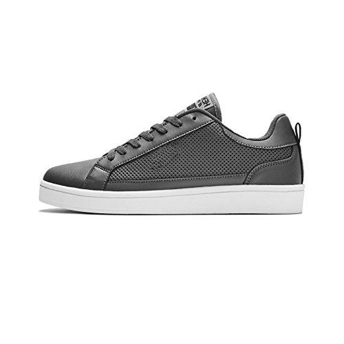 Henleys-Para-hombre-Drexel-Cupsole-Con-Cordones-Zapatillas-Bajo-Top-Zapatos-Zapatos-De-Salon-Casual miniatura 9