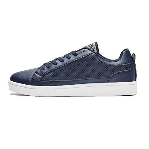Henleys-Para-hombre-Drexel-Cupsole-Con-Cordones-Zapatillas-Bajo-Top-Zapatos-Zapatos-De-Salon-Casual miniatura 13