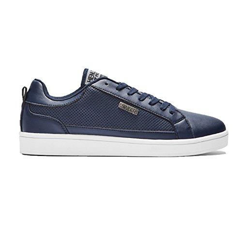 Henleys-Para-hombre-Drexel-Cupsole-Con-Cordones-Zapatillas-Bajo-Top-Zapatos-Zapatos-De-Salon-Casual miniatura 12