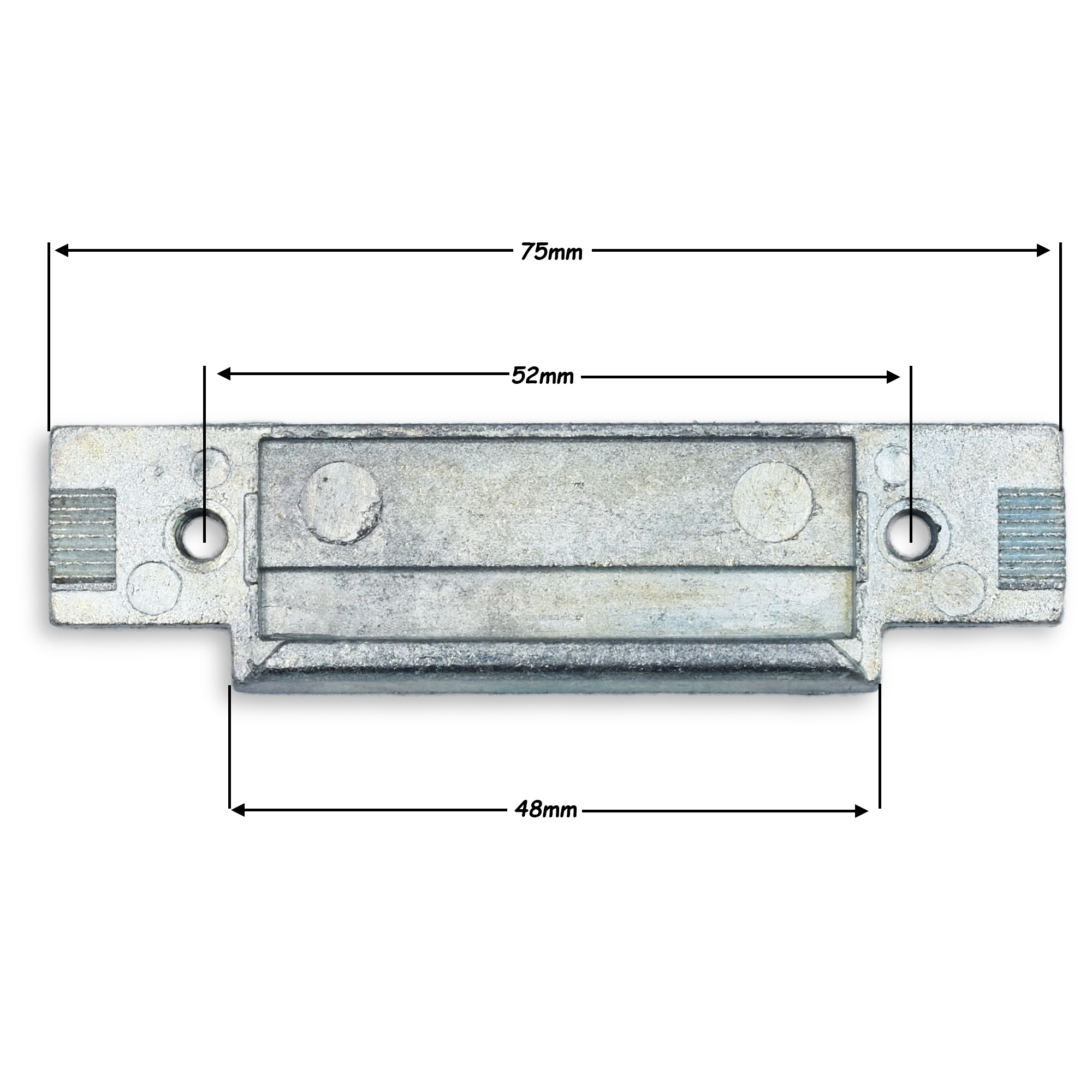Avocet Replacement Centre Latch Keep Striker Plate For