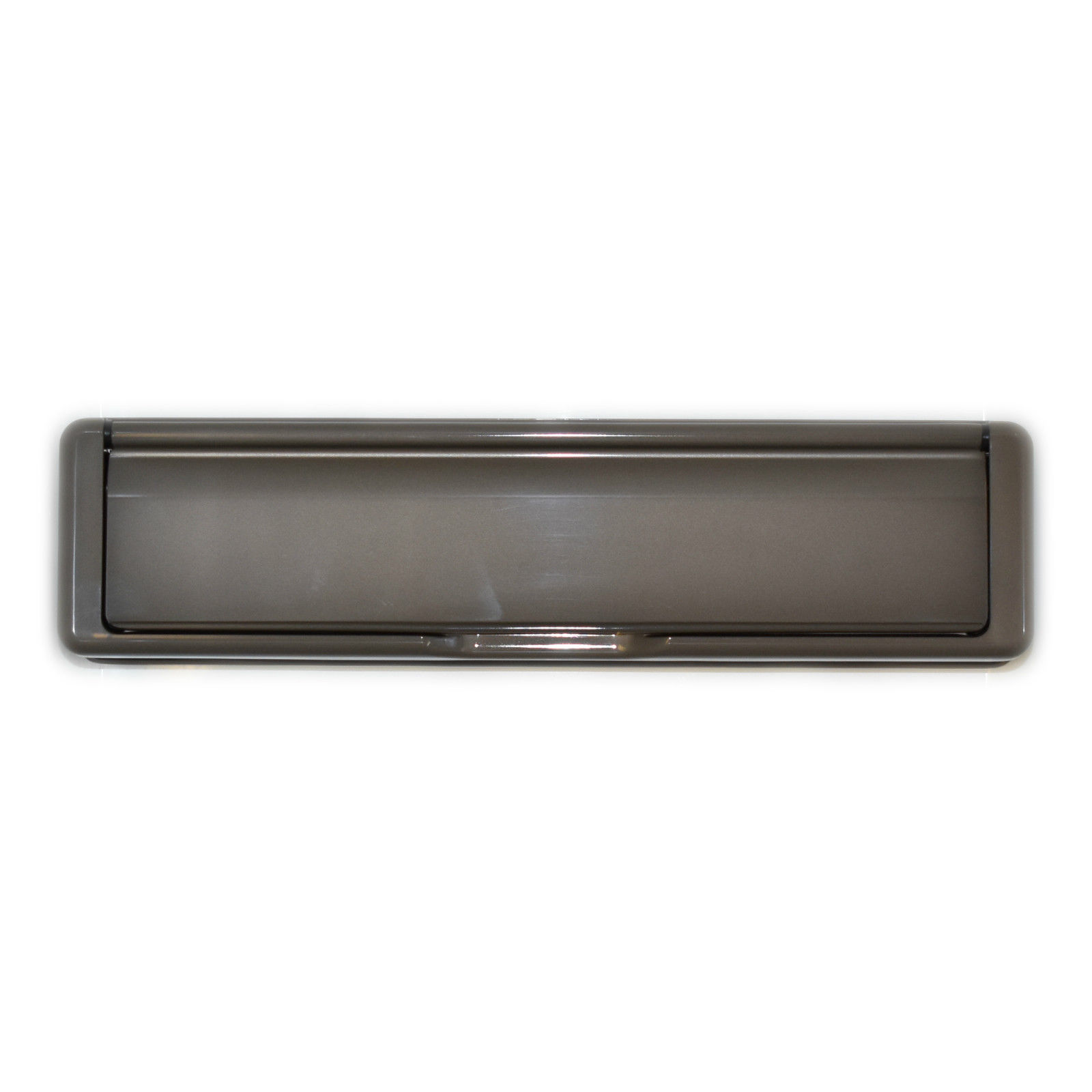 """12/"""" Inch Sprung Letter Box Fab Fix 40//80 Silver UPVC Wood Doors Letterbox Plate"""