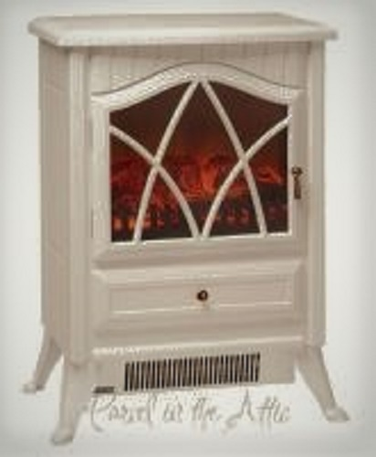 Cast Iron Effect Fire Electric Stove