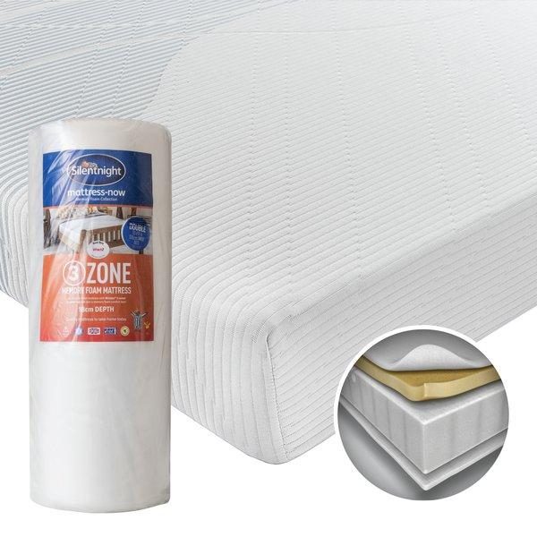 Silentnight Memory Foam 3 Zone Mattress King Size 5ft