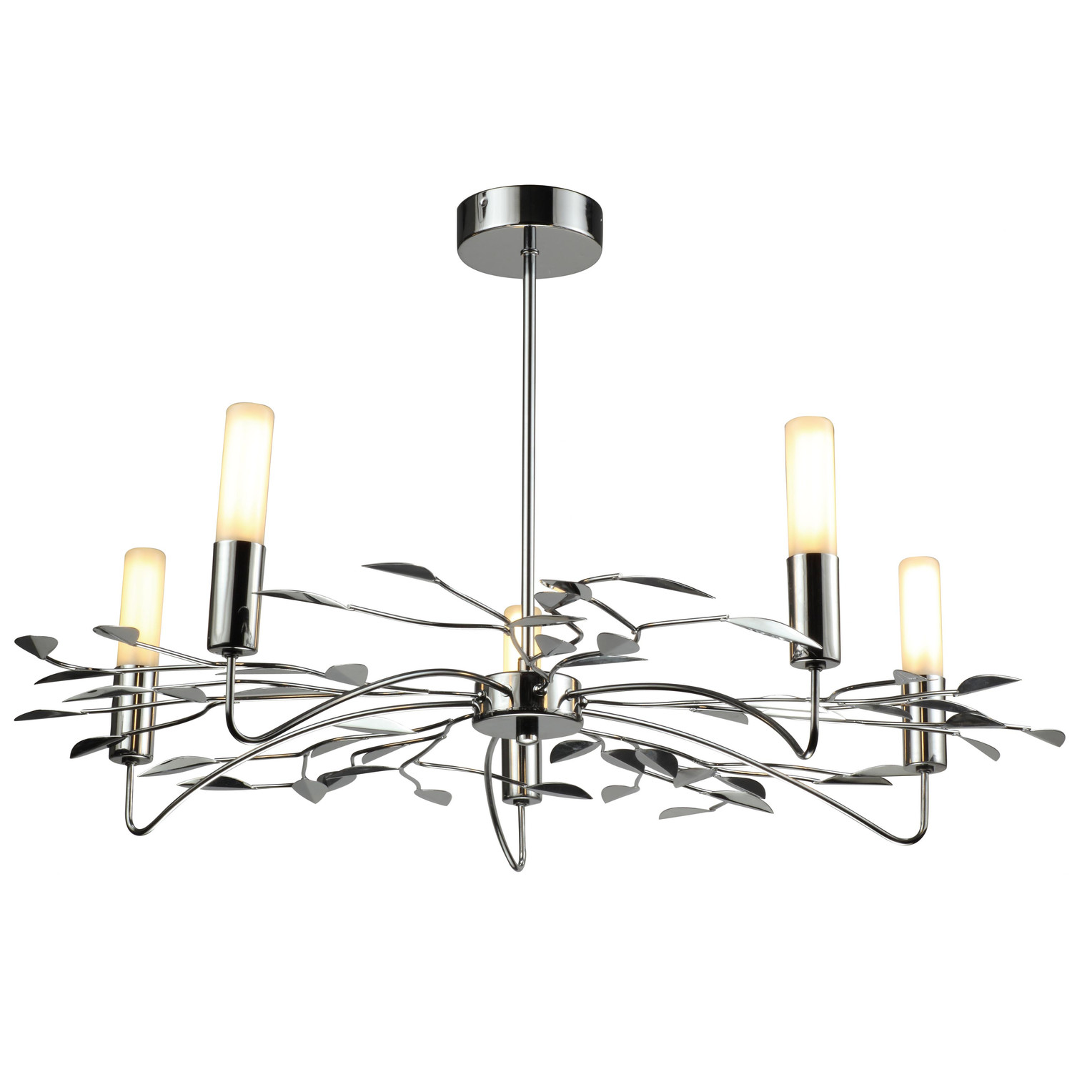 TP24 Provence 5 Light Style Chandelier Finish: Chrome 5060143877797 on