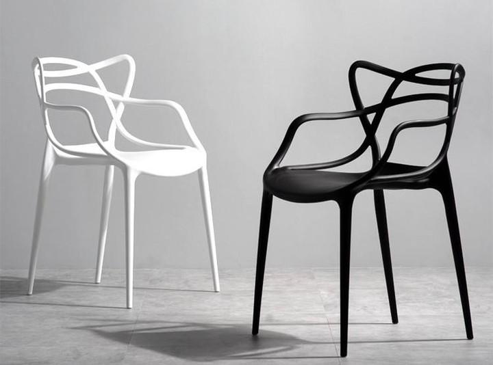 2 x Kartell Masters Sedia Chair, Black 4250298719580 | eBay
