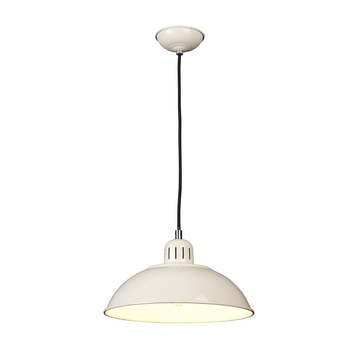 Ceiling Pendant Light In Cream