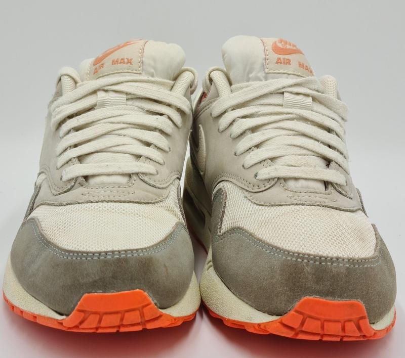 Nike Air Max 1 Essential Suede Trainers 599820-100 Pigeon/Grey UK5 ...