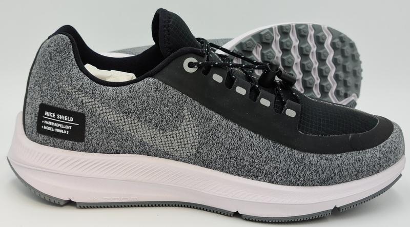irregular Disfraz mientras  Nike Zoom Winflo 5 Run Shield Black/Metallic Silver AO1573 001 UK3/US5.5/EU36  | eBay