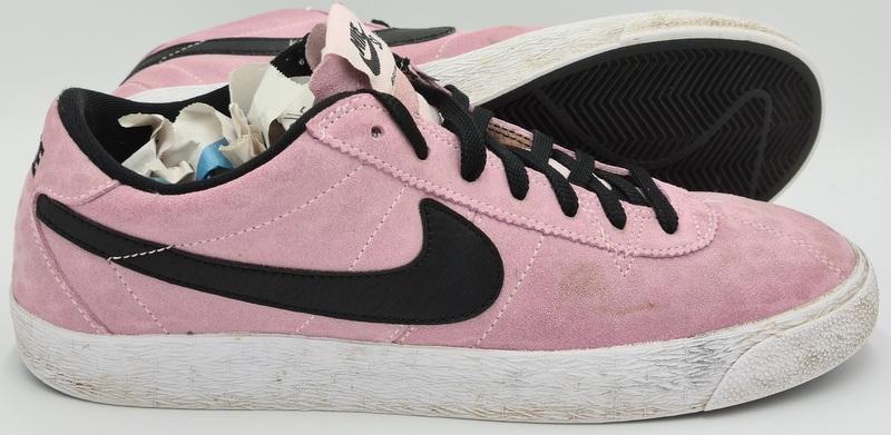 Melodrama radical Clínica  Nike SB Bruin Zoom Premium Suede Trainers 877045-601 Pink/Black  UK9/US10/EU44 7626000883059 | eBay