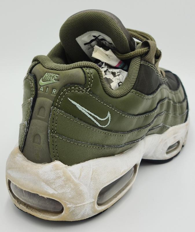 Nike Air Max 95 OG Olive Canvas Trainers 307960-304 UK3.5/US6/EU36 ...