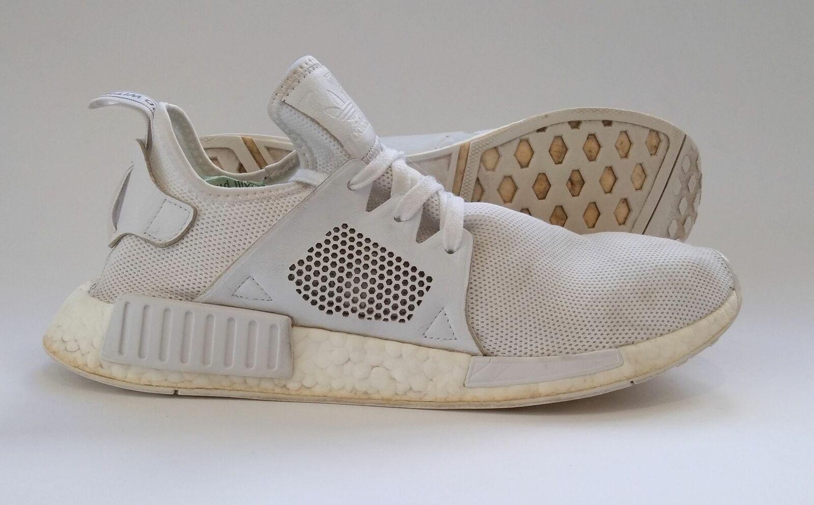 Adidas Nmd Xr1 Triple White By9922 Uk9 Us9 5 Ebay