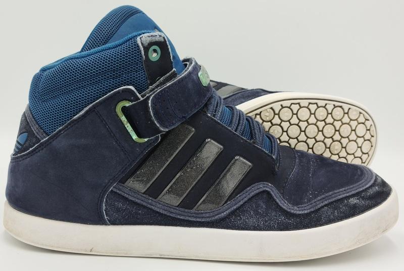Adidas Originals AR 2.0 High Top Basketball Trainers D65687 Blue ...