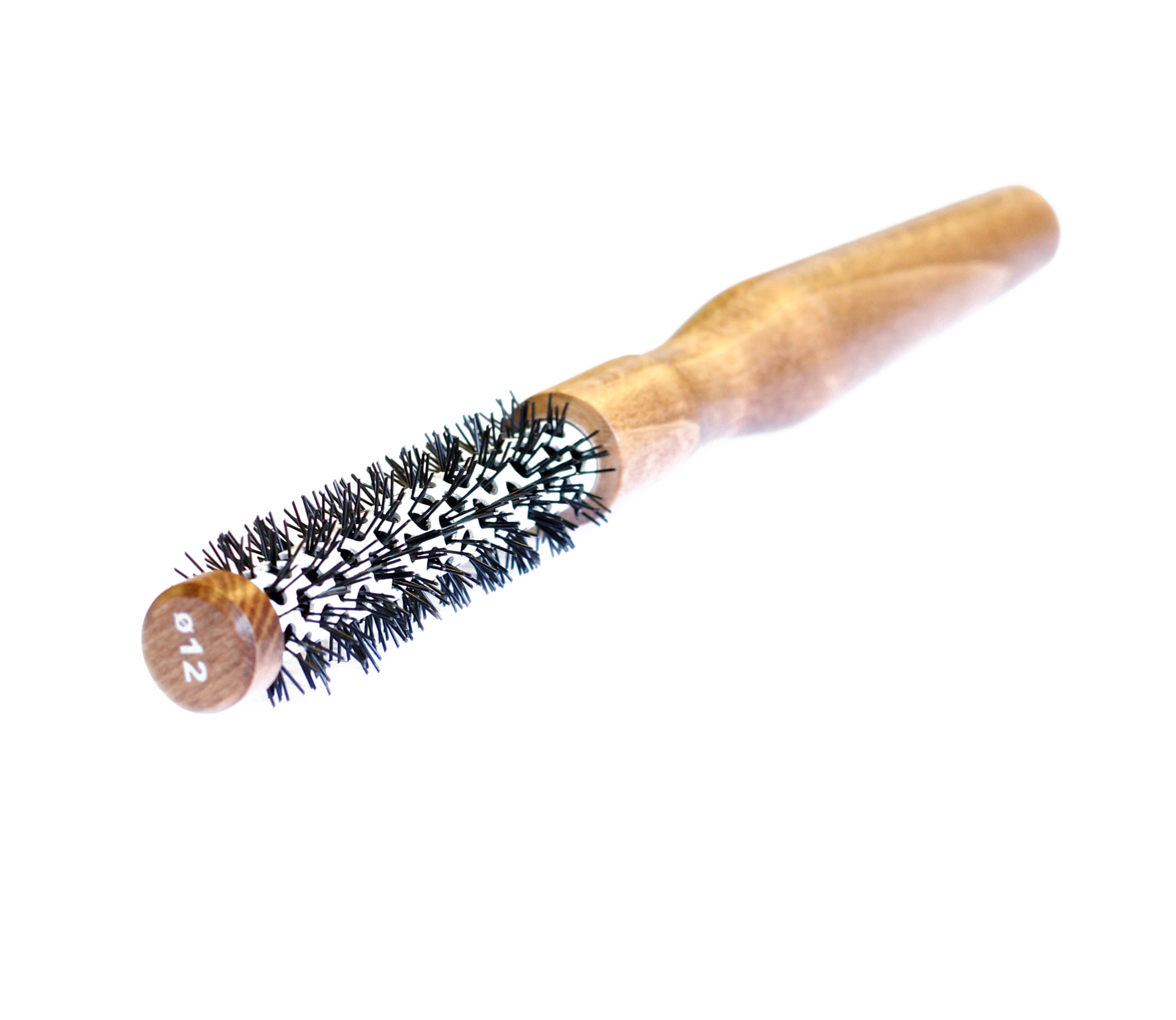 professional hair styling brushes salon professional wooden antistatic hairdressing styling 6245