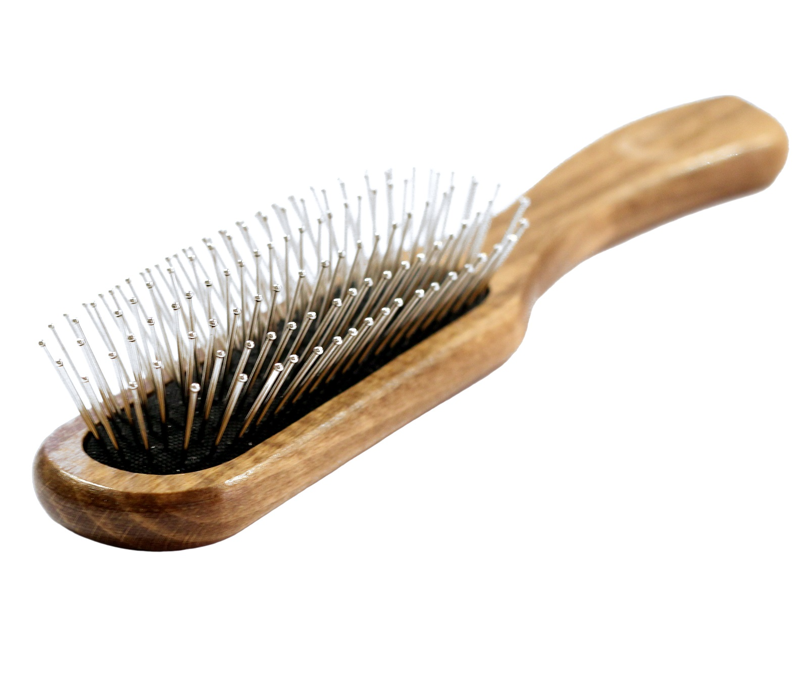 hair style brush salon professional wooden antistatic hairdressing styling 3494