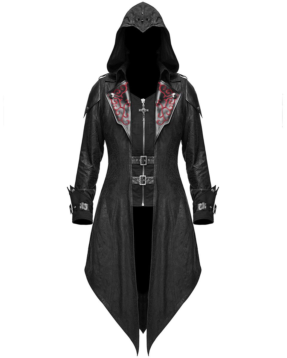 mieux aimé b03f3 474e3 Détails sur Diable Fashion Femme Gothique Veste à capuche manteau noir  dieselpunk Assassins Creed- afficher le titre d'origine