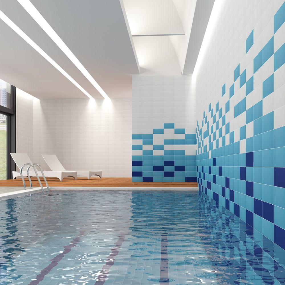 Tidal Tropical Sea Blue Porcelain Wall / Floor Tiles Per Sqm | eBay