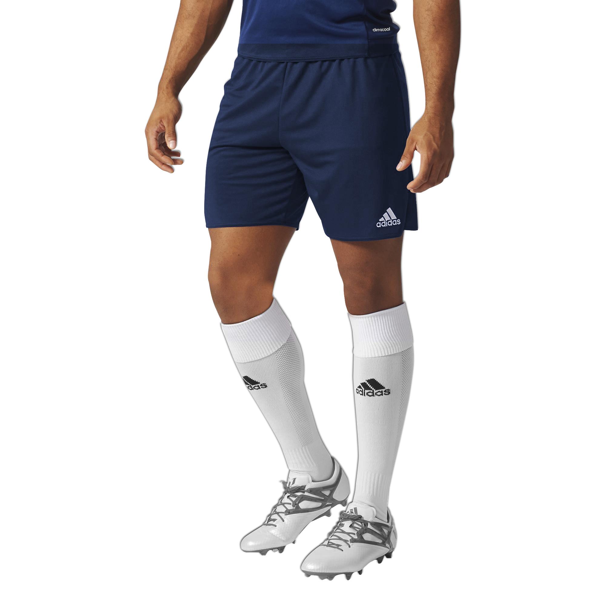 adidas-Men-039-s-Parma-Football-Training-Team-Wear-Shorts-Sport-Casual-Gym-B-Grade thumbnail 4