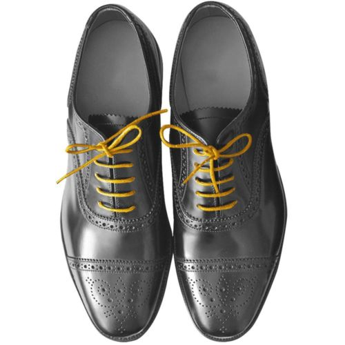 New Round Wax Cotton Thin Shoe Laces 2 5mm Waxed For Leather Oxford