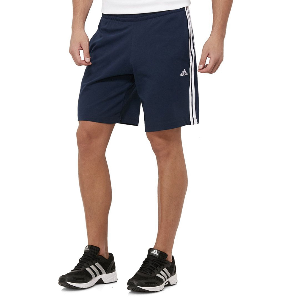 a8ec9915976a Adidas Mens Climalite 3 Stripe Golf Shorts