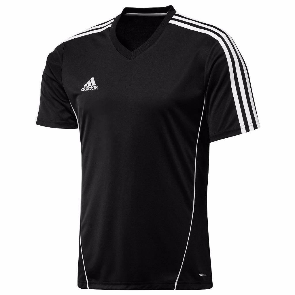 Adidas climalite mens estro football training top jersey t for Best mens sport shirts