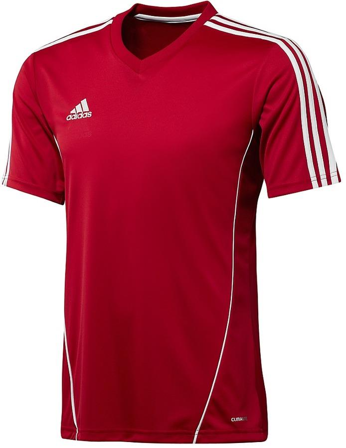 Adidas climalite mens estro football training top jersey t for What is a sport shirt