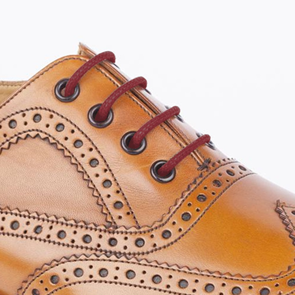 Brown Dress Shoes With Red Laces