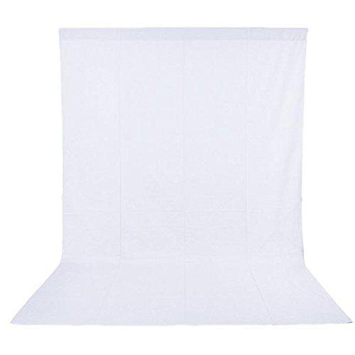 Phot-R 1.6 x 3m Photography Photo Studio Non-Woven Backdrop Background White