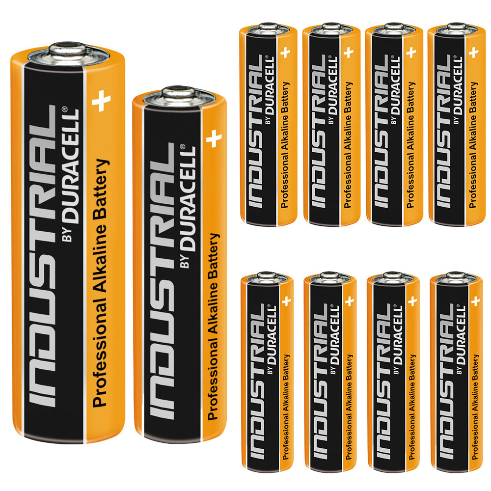 4 Duracell Industrial AA AAA Alkaline Batteries Procell