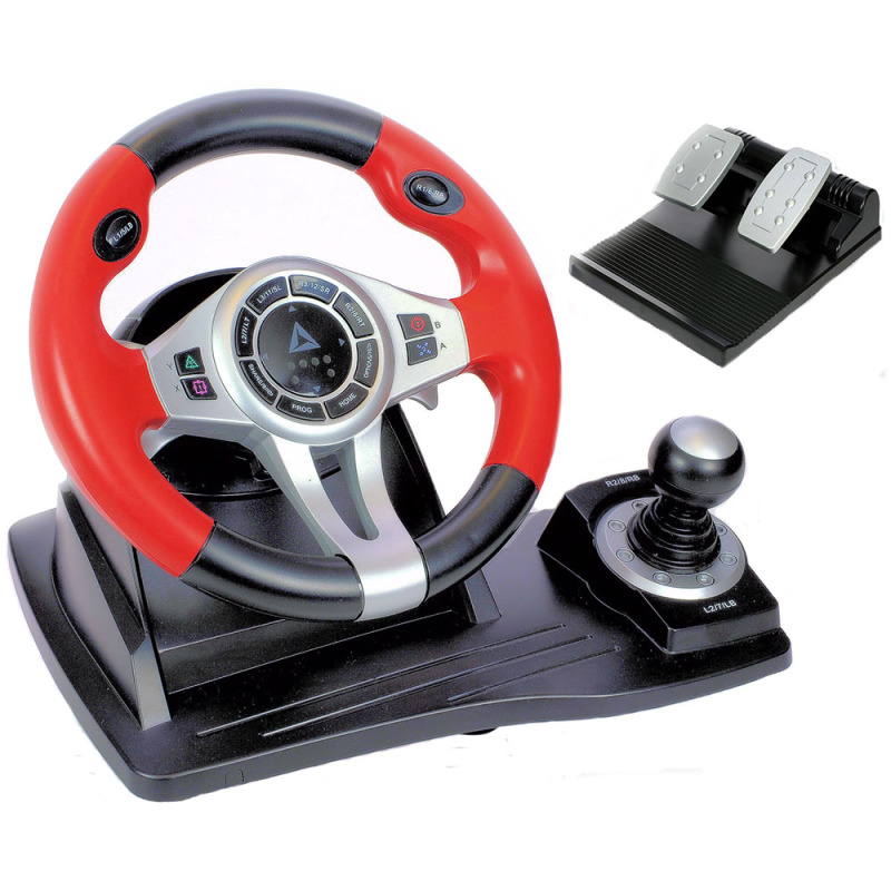 how to set up steering wheel for ps3